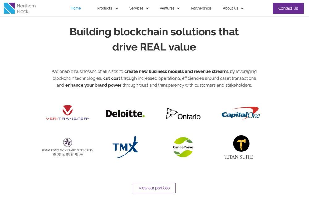 Northern Block - Building blockchain solutions that drive REAL value
